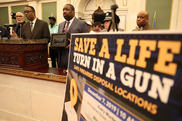 Philadelphia officials want parents to turn in their guns after 108 kids were shot this year
