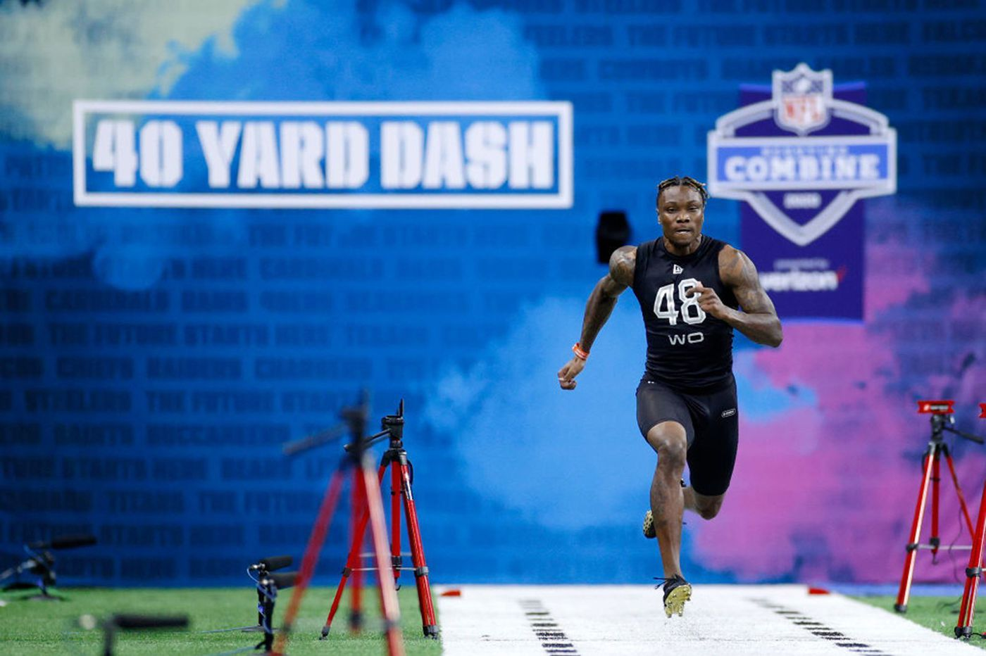 Henry Ruggs' stellar 40-yard dash may mean Eagles have to trade up if they want to draft him | Early Birds