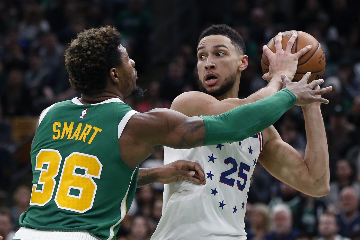Sixers-Celtics observations: Kyrie Irving steals the show as Sixers bench struggles to help