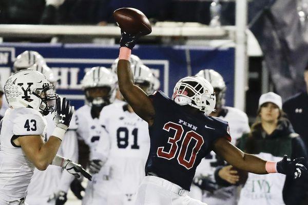 Penn football falls hard to Yale, 23-10