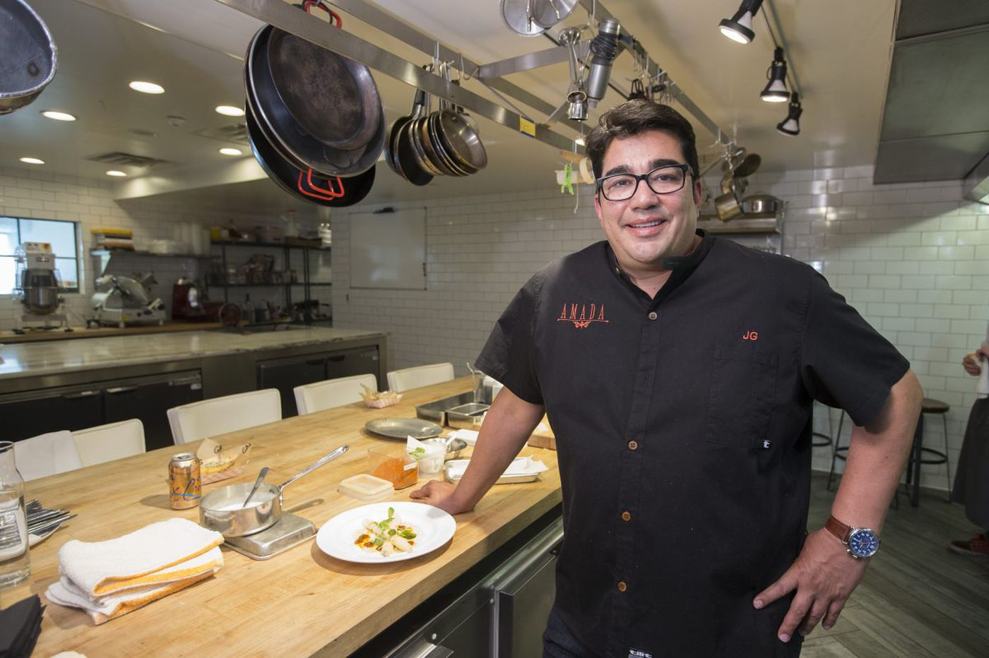 Jose Garces, a chef inside a financial pressure cooker