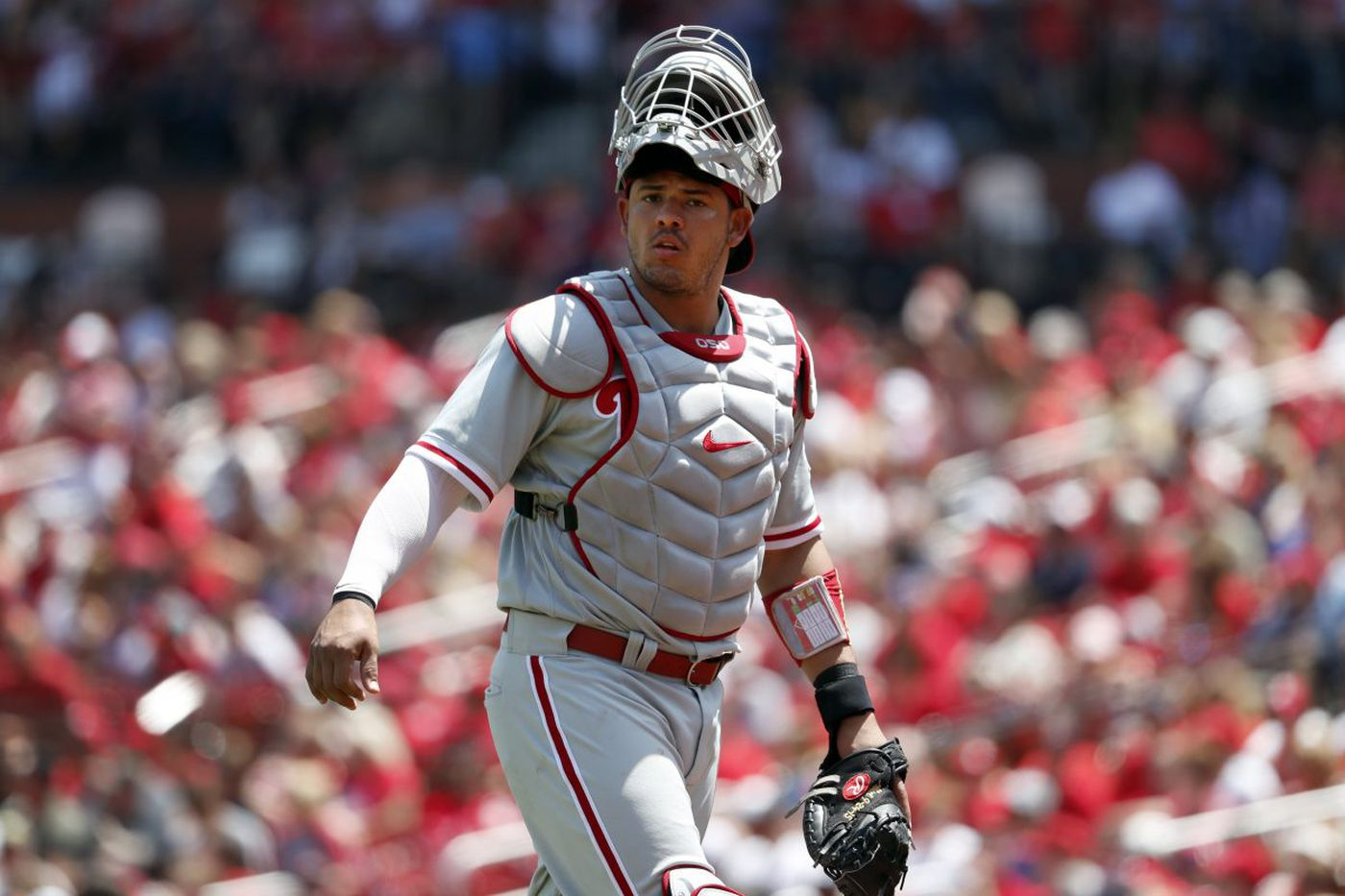 Jorge Alfaro channels Pudge Rodriguez as Phillies take Round 1 from Braves   Extra Innings