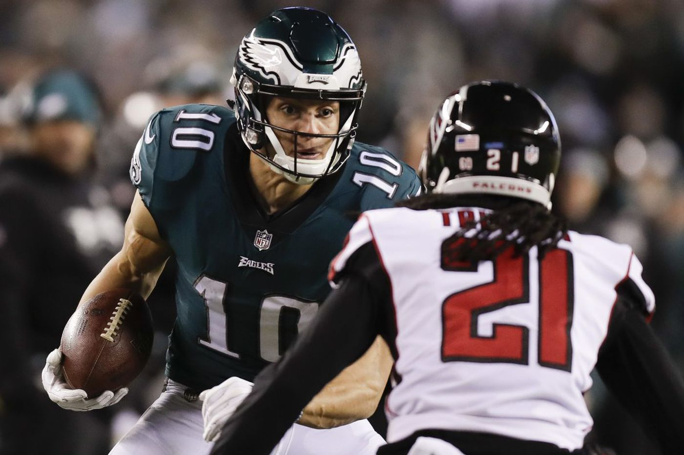 Eagles' Mack Hollins looking to get his freak on with new wide receivers coach | Jeff McLane