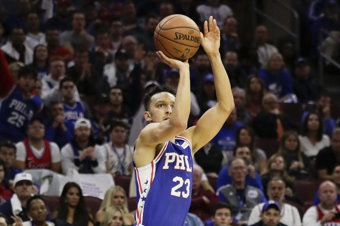 Landry Shamet isn't afraid to shoot, and the Sixers will keep on letting him | David Murphy
