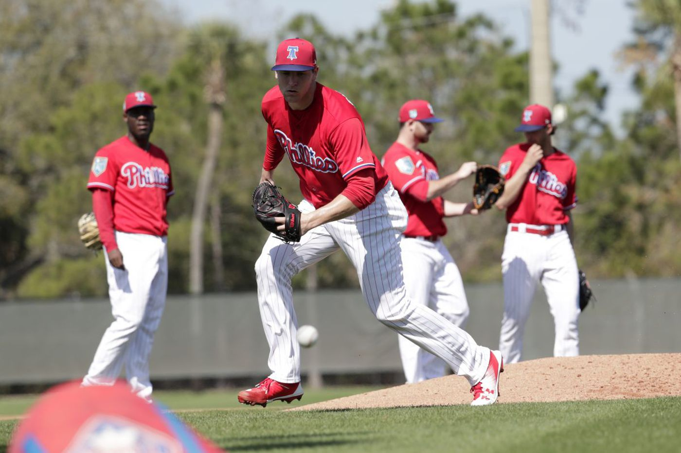 Jerad Eickhoff to start for Phillies in spring opener