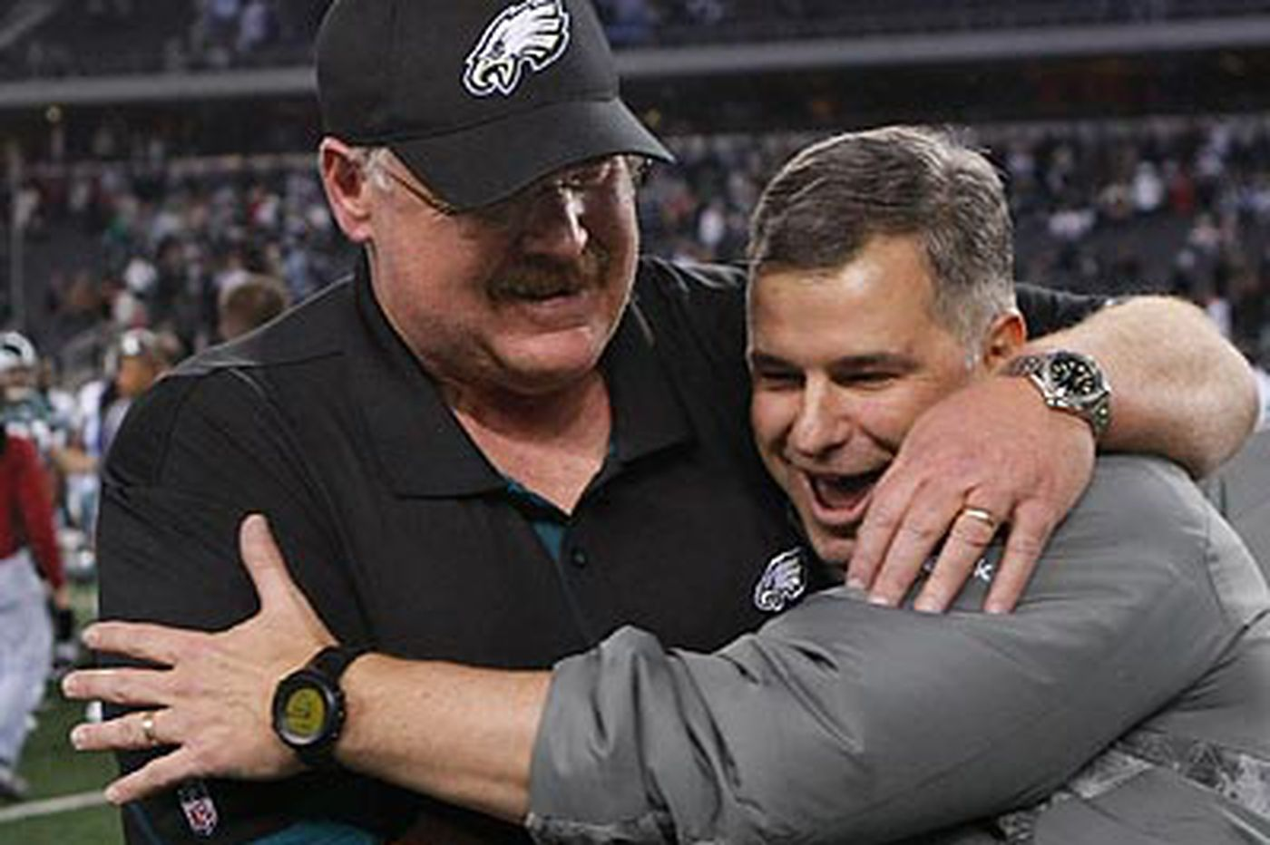 Rich Hofmann: Reid shows his Eagles it's time for emotion