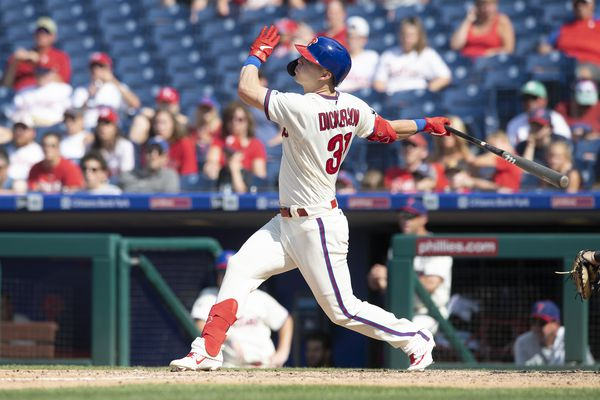 Phillies continue to be cautious with newly acquired outfielder Corey Dickerson's groin injury