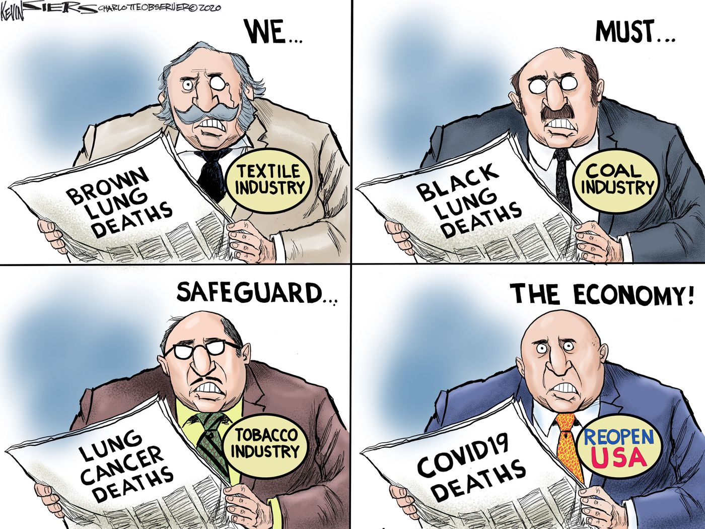 When will America reopen? 10 cartoons on the latest phase of the ...