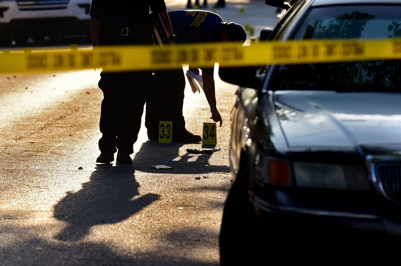 Two people slain, 9 more shot or stabbed, from Friday through Sunday in Philadelphia