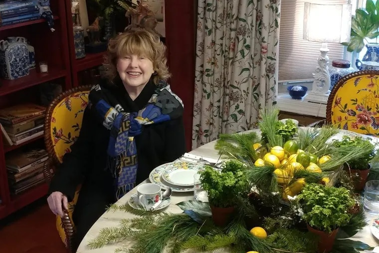 Judy DeVicaris at home in Mount Laurel, N.J. A mother of five, she was a driving force behind Cafe Nola and other popular Philadelphia restaurants and bars from the 1970s through the '90s.