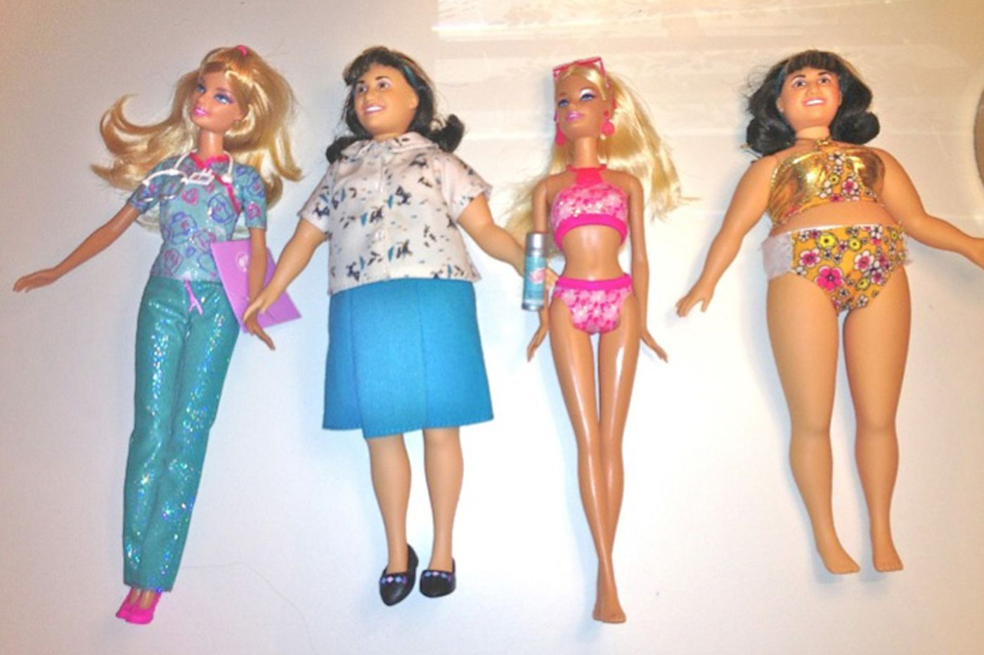 Three minutes with Barbie and they wanted to be thinner