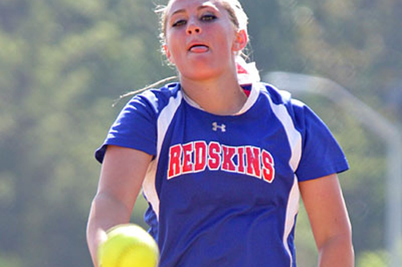 Neshaminy's Quense enjoys her role as pitcher