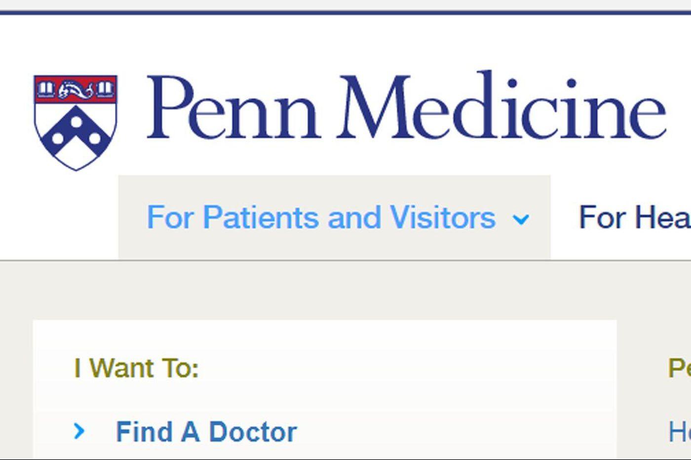 Penn Medicine computer with patient info stolen