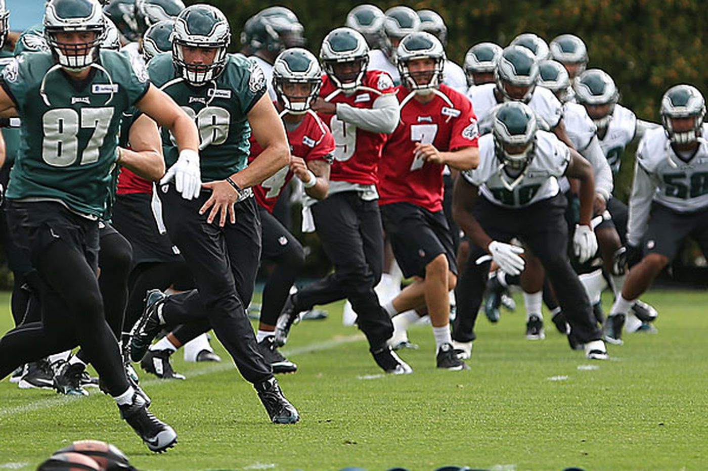 Hurricane has NFL considering schedule options for Eagles-Redskins