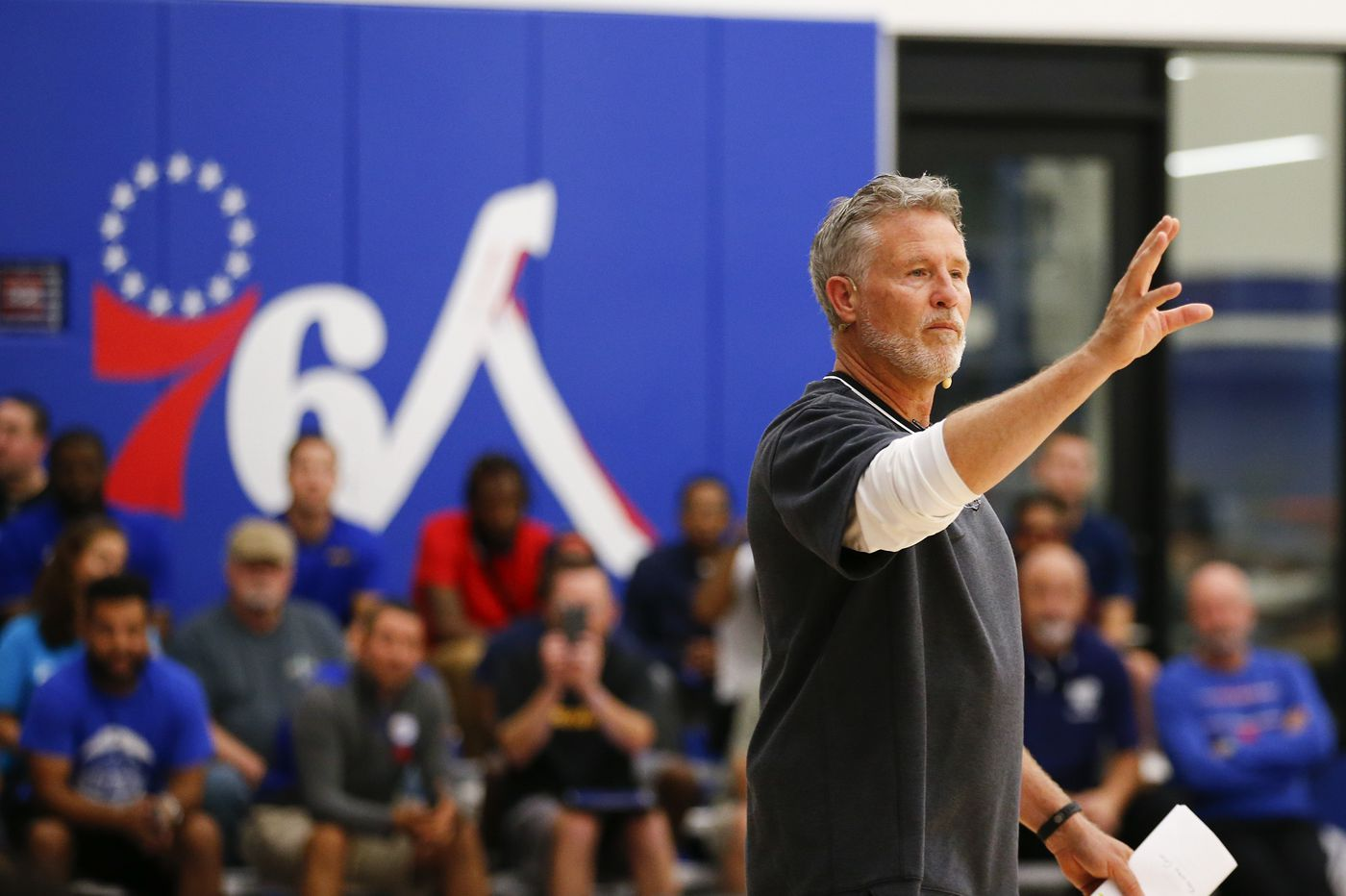Sixers coach Brett Brown recounts his reaction about the season-ending shot in Toronto