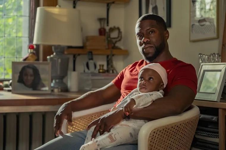 "Kevin Hart as Matt in ""Fatherhood."""