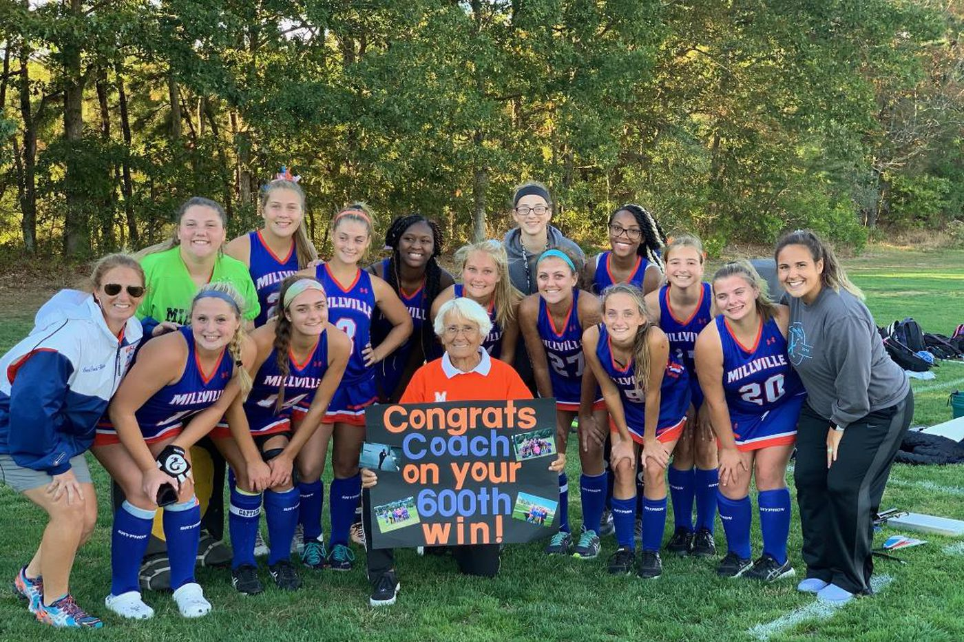 Thursday's South Jersey roundup: Claudia McCarthy wins 600th game as Millville field hockey coach