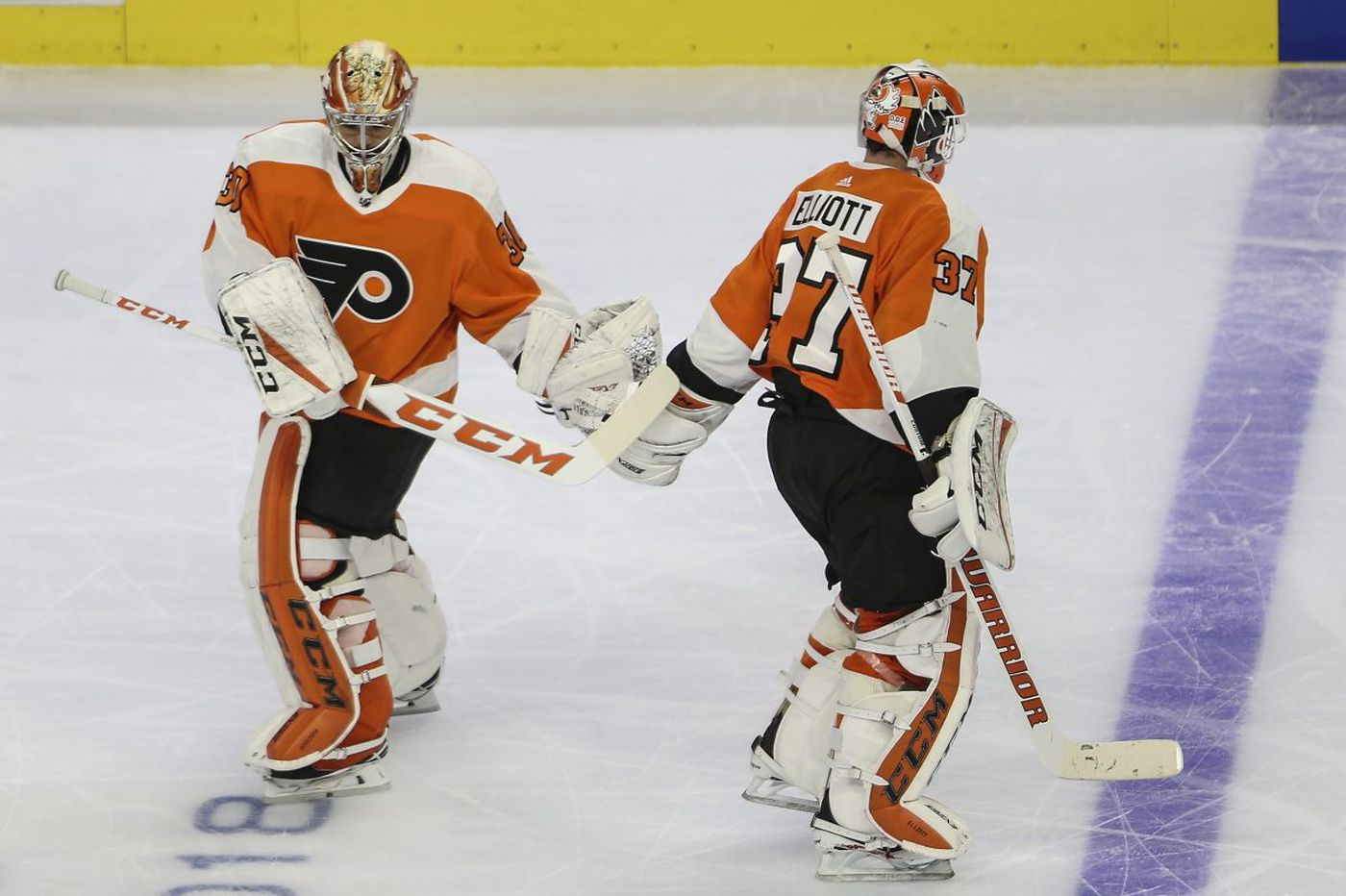 The Flyers' goalies aren't the answer for NHL playoff woes, but they're not the real problem, either | Mike Sielski