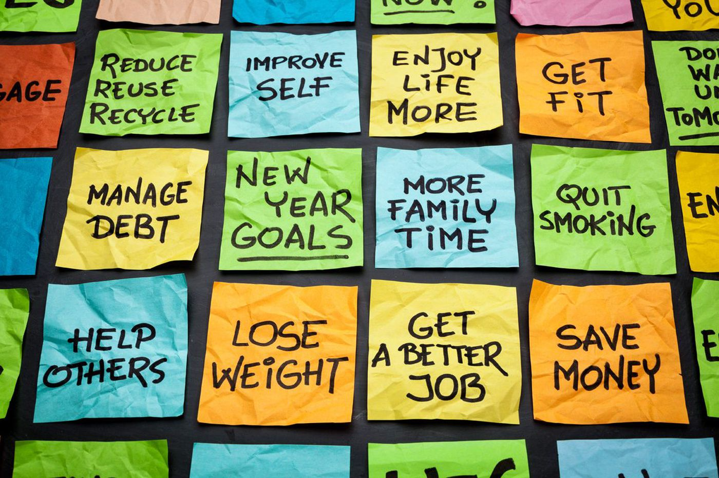 How to make a New Year's resolution that will actually work