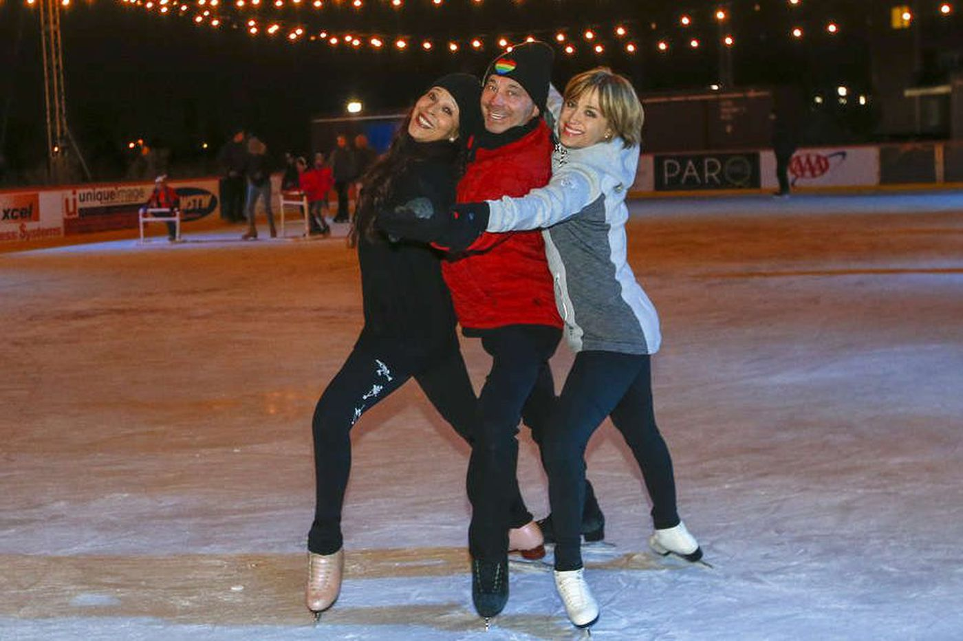 Olympic skaters - Dorothy Hamill included - now starring in a play in Wilmington
