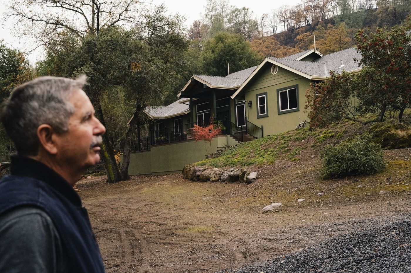 Owners of the few homes left standing around Paradise took critical steps to ward off wildfires