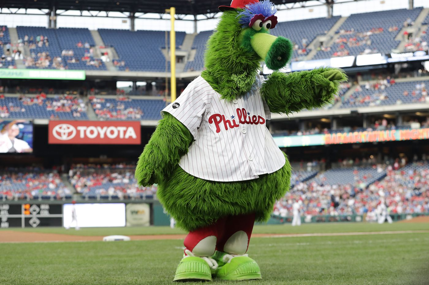 It's time to say thanks and farewell to the Phillie Phanatic   Opinion