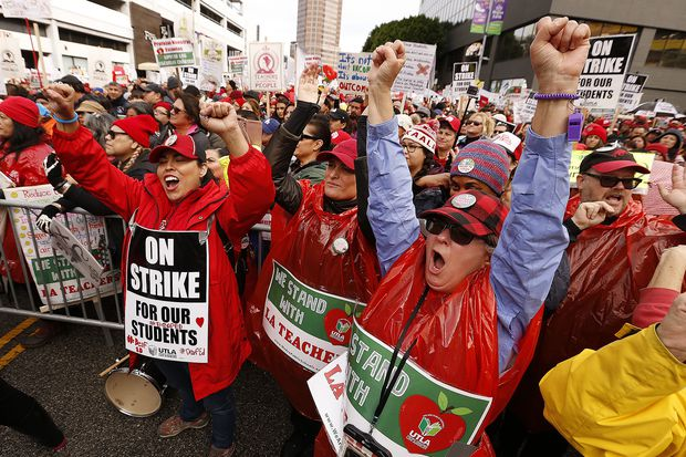 L.A. teacher strike may be cutting edge of a revolution against what's rotten in America | Will Bunch