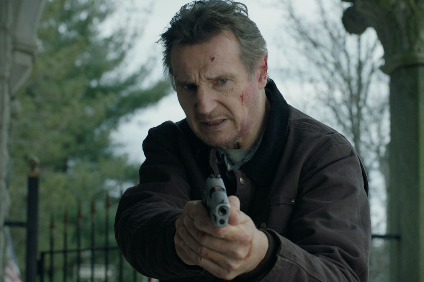 Liam Neeson tapped his working mum's layoff to stoke a righteous anger in 'Honest Thief'