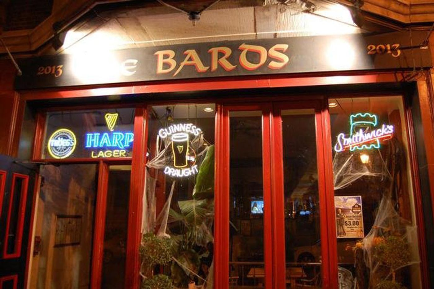 The Bards, in Rittenhouse for nearly 25 years, closes