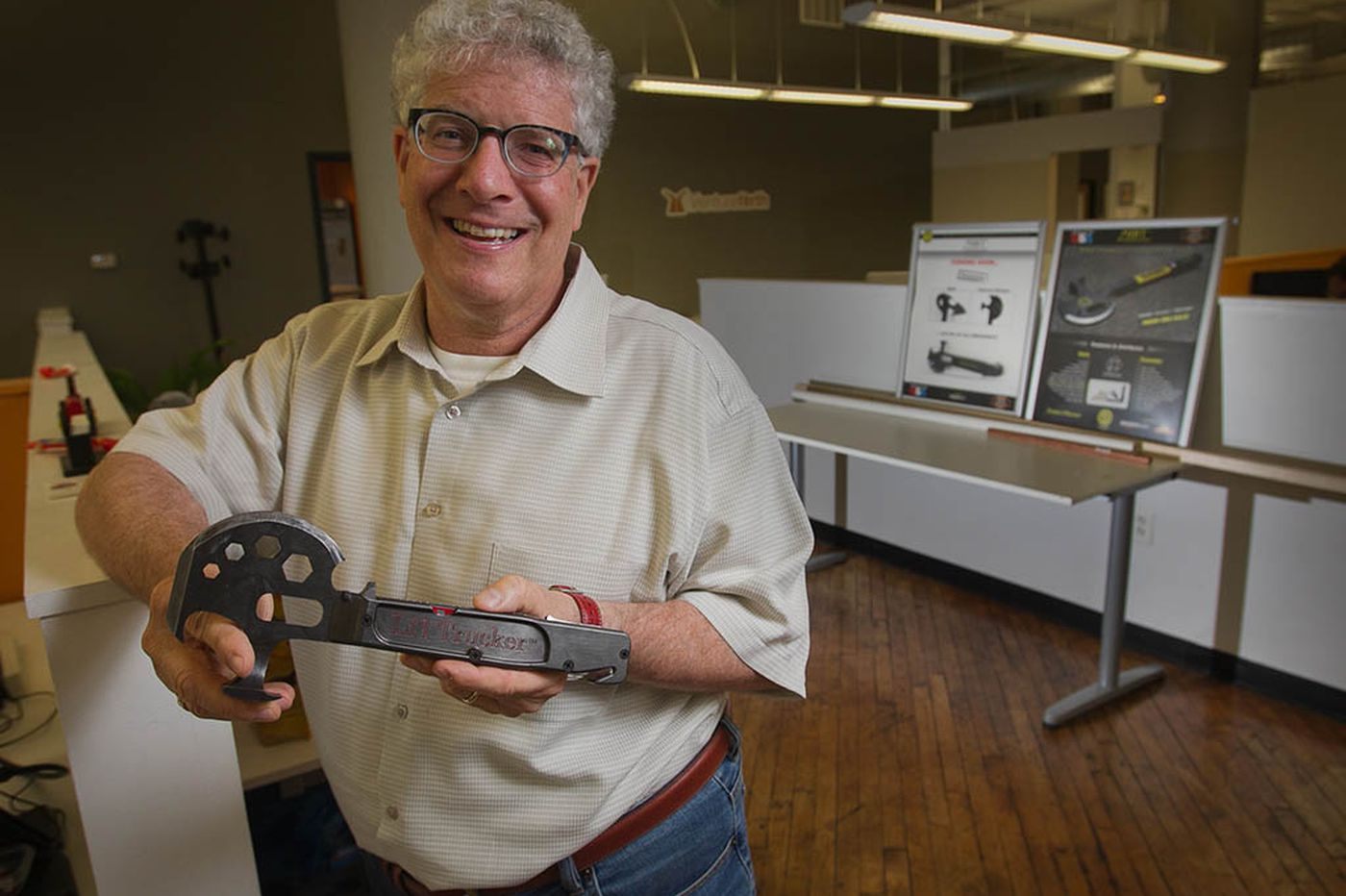 Inventor uses Kickstarter and Zombies to push project