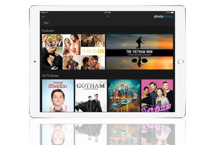 Comcast had launched Xfinity Instant TV for millenials.