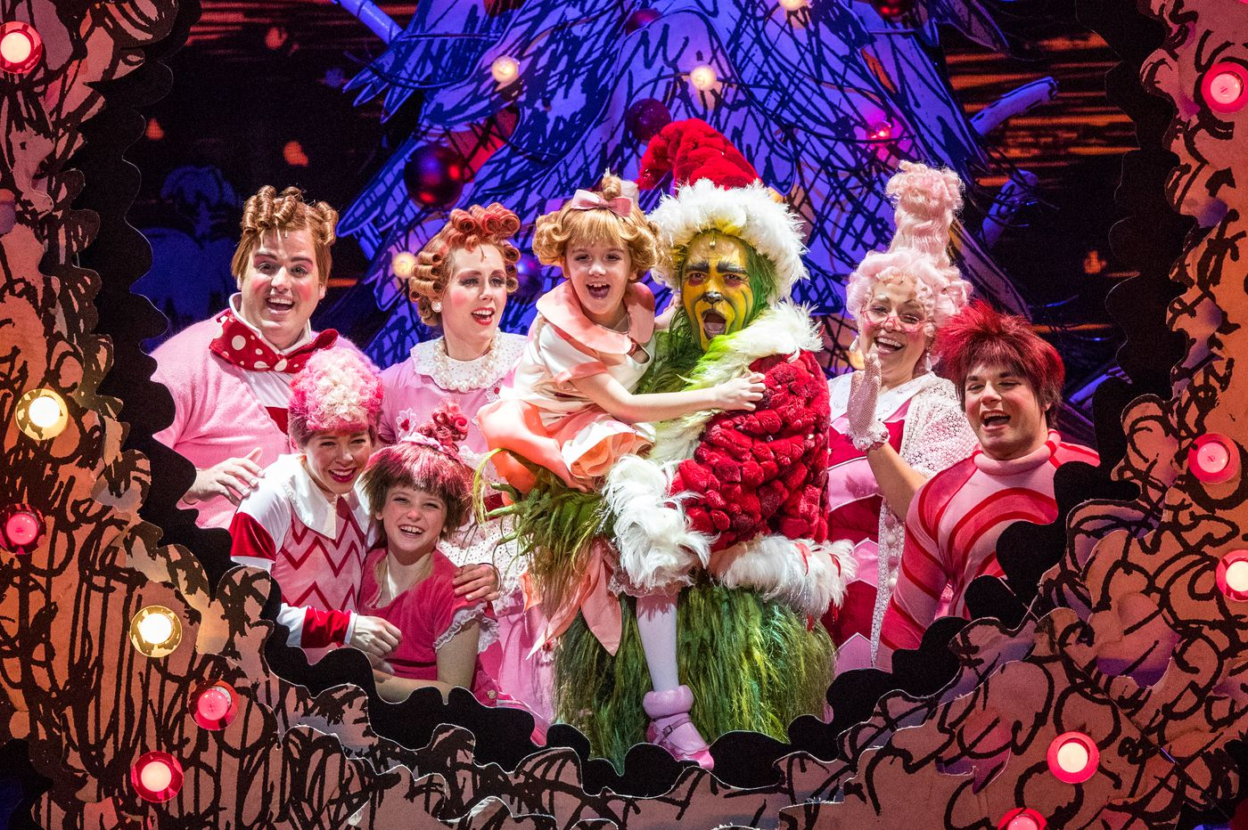 'How the Grinch Stole Christmas!' at the Merriam Theater ends up stealing hearts