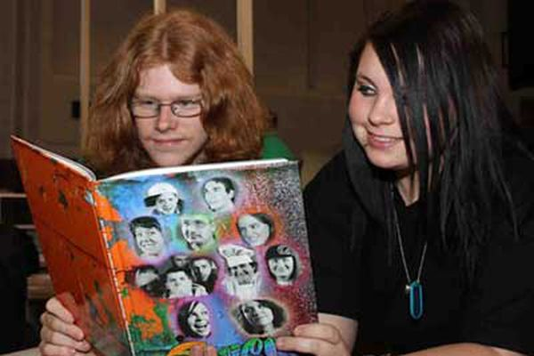 For Chester County school, scanning the yearbook acquires new meaning