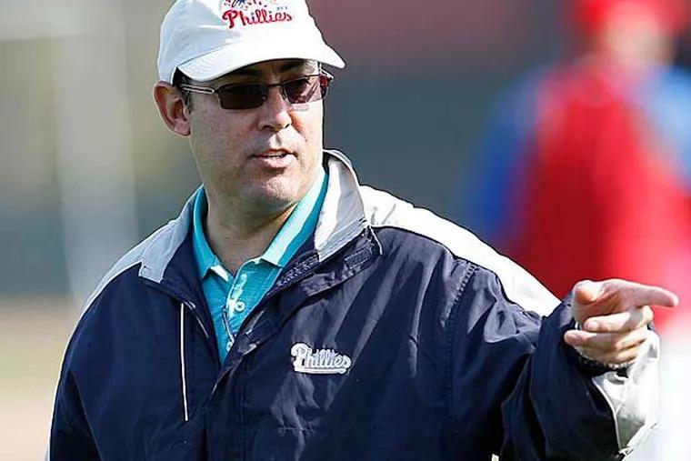 Phillies general manager Ruben Amaro. (Yong Kim/Staff Photographer)