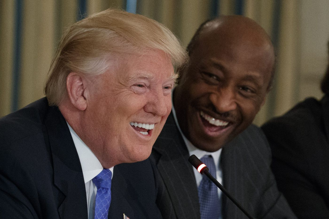 Merck CEO Kenneth Frazier, speaking in Philly, urges people to call out 'untruth, misinformation, and just plain BS'