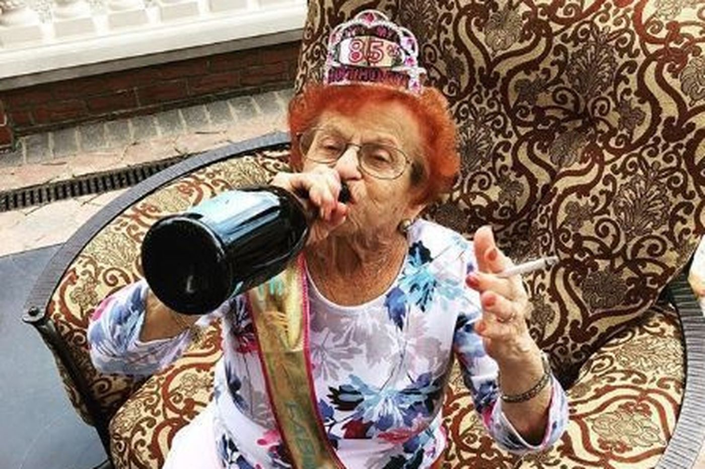 South Philly's Dolly Broadway, 86, is a tough-talking White Claw fan and TikTok sensation | We The People