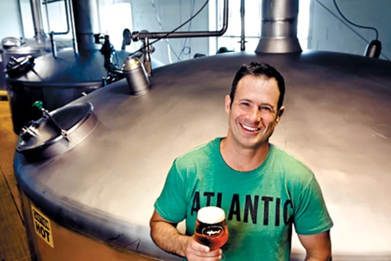 In the craft-beer sector, Dogfish Head head honcho Sam Calagione is a rock star.  (Kevin Fleming Photography)