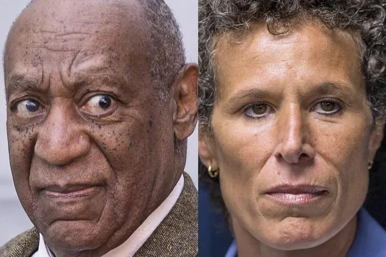 Bill Cosby and Andrea Constand