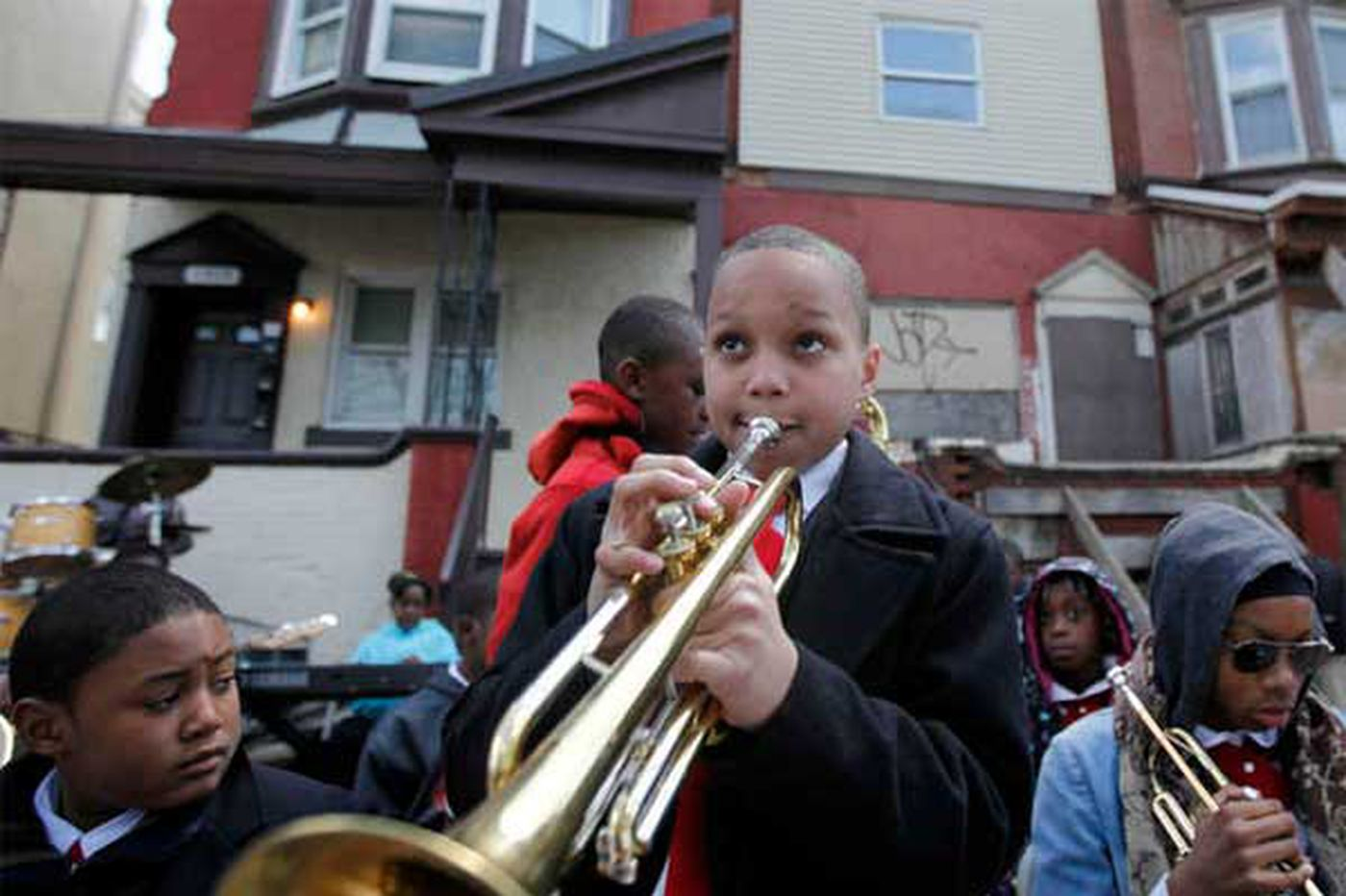 Cultivating ideas for John Coltrane's old Strawberry Mansion house