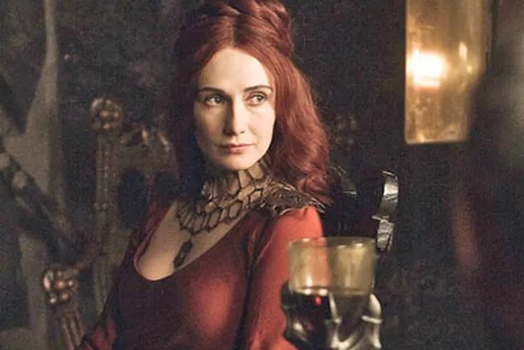 """Carice van Houten in a scene from the season premiere of """"Game of Thrones."""" (HBO)"""
