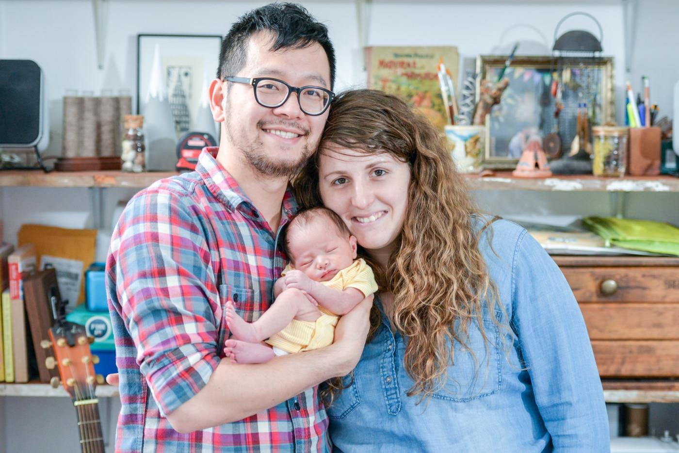 The Parent Trip: Ilyssa and Dave Kyu of Passyunk Square
