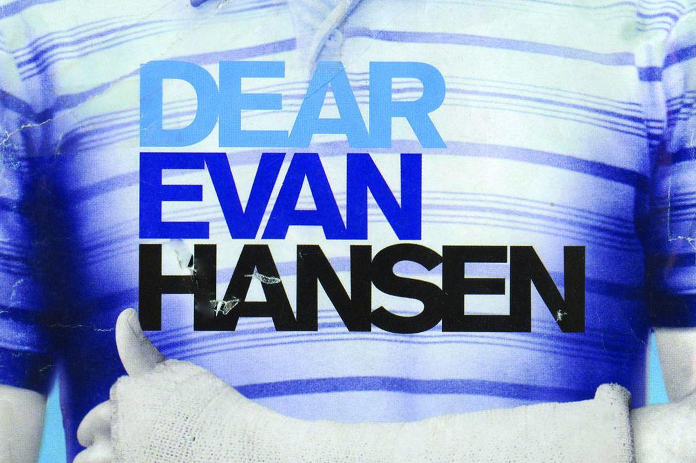 Ardmore native Benj Pasek's 'Dear Evan Hansen' to get young adult novel treatment