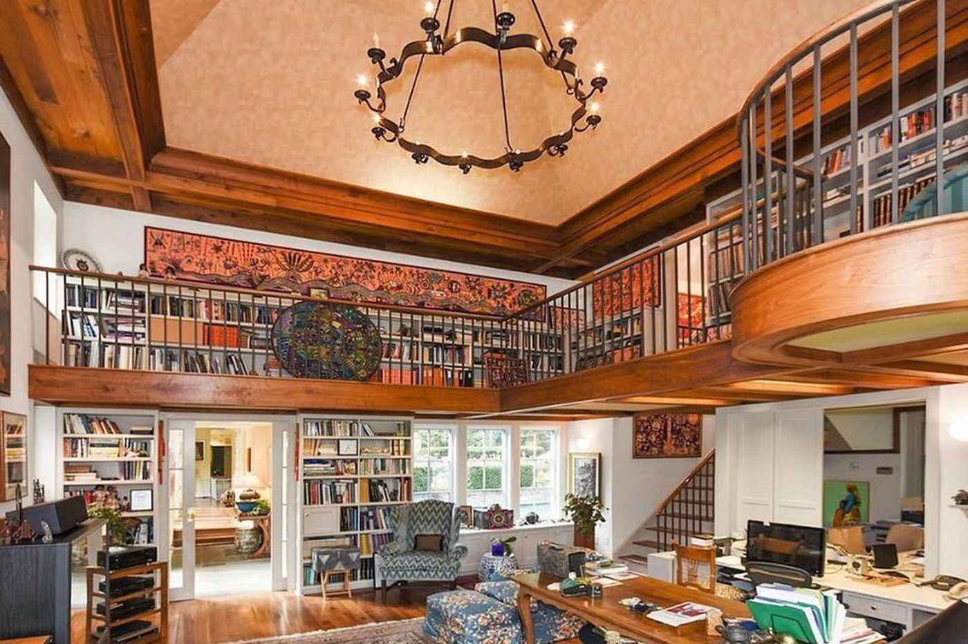 Crave a reading nook? Check out these in-home libraries