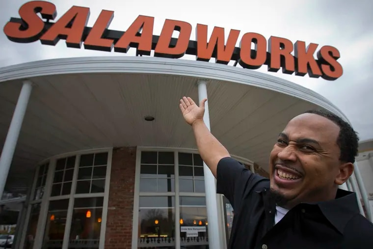 Ricardeau Scutt, who immigrated to Philadelphia from Haiti in 2000, is the owner of the Saladworks located in the Andorra Shopping Center at 8500 Henry Ave in Philadelphia.