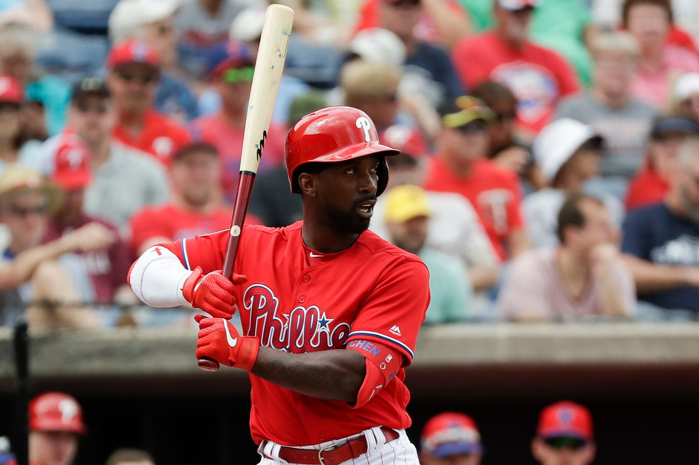 Phillies' Andrew McCutchen confident he'll be ready for opening day after major knee surgery