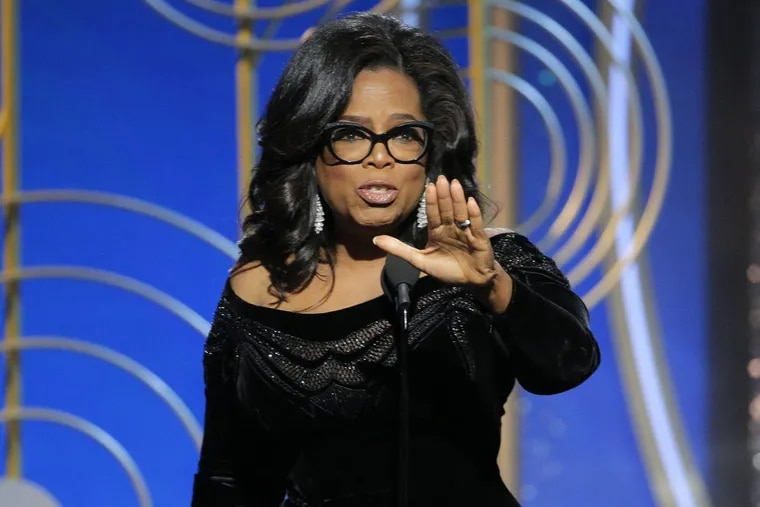 Oprah Winfrey for President? Why not?   (Paul Drinkwater/NBC via AP)