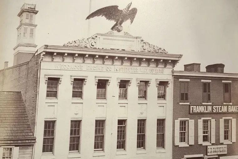 The second version of the firehouse on Queen Street near Second Street was built in the 1850s. It was first home to a volunteer fire department and changed over to a paid unit after the city's first fire department organized in 1871. It was replaced by a third version, which opened in the 1890s.