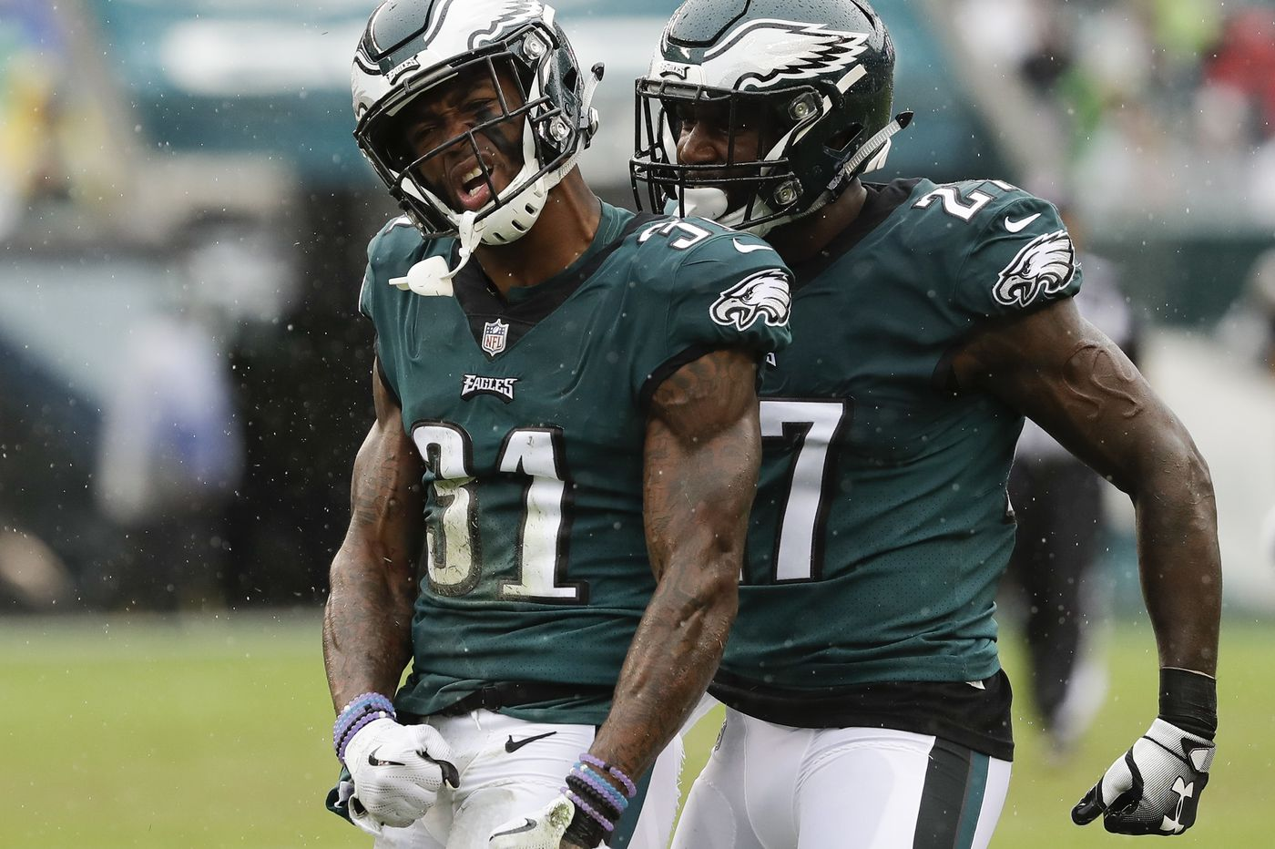 Jalen Mills to fill Malcolm Jenkins' considerable shoes at safety and he's up for the challenge