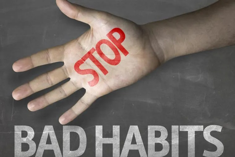 Breaking a bad habit and replacing it with a new, healthier one isn't easy.