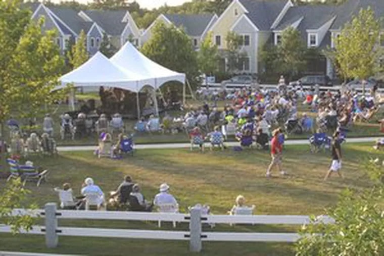 A concert in Norton, Mass. , aimed to drum up interest in local real estate. On an individual level, entertainment is being staged in houses that are on the market. Some agents say it helps potential buyers picture themselves in the home.